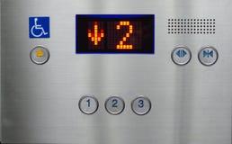 O elevador está indo para baixo Fotos de Stock Royalty Free