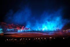 O ` em grande escala de Jinggangshan do ` da mostra do beira-rio Fotografia de Stock Royalty Free