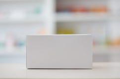 O empacotamento médico com farmácia arquiva o fundo Imagem de Stock Royalty Free