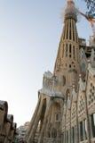 O en Barcelona de Sagrada Familia do La é um do buildi o mais icônico Fotos de Stock Royalty Free