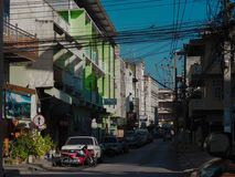 O encanto de Lampang fotografia de stock royalty free