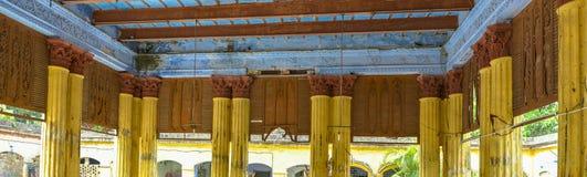 O encanto de uma construção velha Imagem de Stock