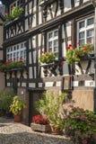 O Engelgasse histórico na cidade velha de Gengenbach Fotografia de Stock