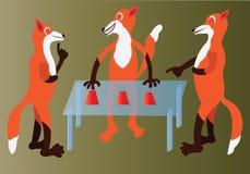 O engodo equipa o jogo ilustração do vetor