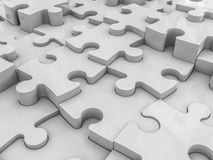 O enigma abstrato remenda o fundo Imagens de Stock
