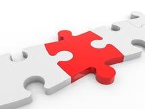 O enigma conecta a solução Imagem de Stock Royalty Free