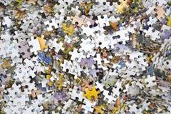 O enigma remenda o fundo Imagens de Stock Royalty Free