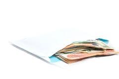O envelope com o dinheiro, Fotografia de Stock