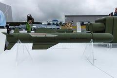 O enxofre do míssil ar-terra, é um míssil do fogo-e-esquecimento Imagem de Stock Royalty Free