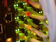 O equipamento de uma comunicação Fotos de Stock Royalty Free