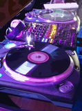 O equipamento musical Fotografia de Stock Royalty Free
