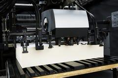O equipamento para uma imprensa Fotografia de Stock Royalty Free