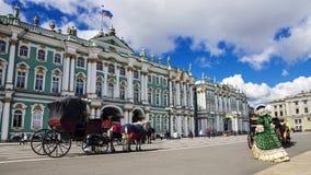 O eremitério em St Petersburg, Rússia foto de stock