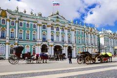 O eremitério em St Petersburg, Rússia fotografia de stock