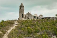 O eremitério na montagem Alvernia Imagens de Stock