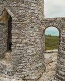 O eremitério na montagem Alvernia Foto de Stock