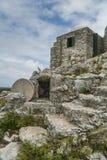 O eremitério na montagem Alvernia Imagem de Stock