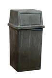 O escaninho de lixo isolou-se foto de stock royalty free