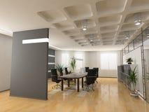 O escritório moderno Foto de Stock