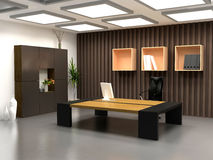 O escritório moderno Foto de Stock Royalty Free