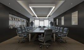 O escritório Photorealistic rende Fotos de Stock