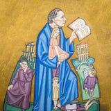 O escritor dinamarquês H C Andersen imagem de stock