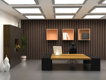 O escritório moderno Fotografia de Stock Royalty Free