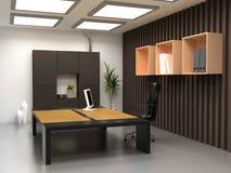 O escritório moderno Imagens de Stock Royalty Free