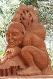 O escultor da areia do hobbit Imagem de Stock
