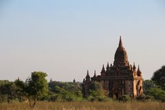 O espírito de Myanmar imagem de stock