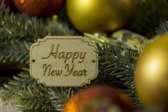O espírito do Natal, e um Natal do ano novo feliz, Christm Imagens de Stock Royalty Free