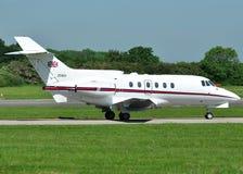 O espaço aéreo britânico BAe do RAF 125 cc.3 Foto de Stock