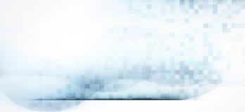 O espaço atmosférico abstrato alinha o fundo ilustração royalty free