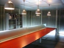 O espaço de escritórios vazio Fotos de Stock