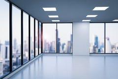 O espaço de escritórios vazio Imagem de Stock Royalty Free