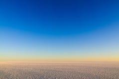O espaço do céu e do gelo Fotos de Stock Royalty Free