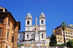 O espanhol pisa Roma Foto de Stock Royalty Free