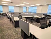 O espaço de escritórios vazio Imagem de Stock