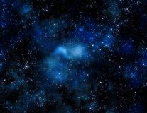 O espaço profundo Fotografia de Stock Royalty Free