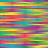 O espectro colorido abstrato do arco-íris desigual torna ásperas linhas teste padrão Texture_1 da listra do fundo ilustração royalty free