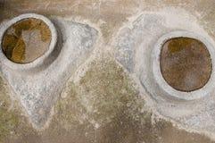 O espelho da água associa - Machu Picchu - o Peru Fotografia de Stock