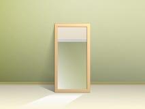 O espelho no assoalho Fotos de Stock
