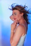 O esplendor verdadeiro reflete uma vitalidade interna Foto de Stock Royalty Free