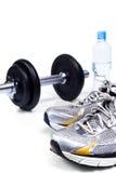 O esporte calç pronto para exercitar Fotografia de Stock