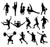 O esporte dá forma ao vetor Imagem de Stock