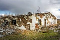 O estábulo jogado do período soviético Fotos de Stock