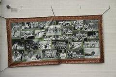 O estádio de futebol abandonado em Wageningen nomeou a icebergue de Wageningse foto de stock