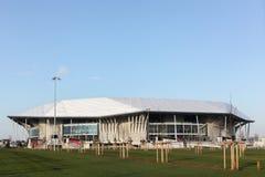 O estádio de Parc Olympique em Lyon, França Foto de Stock