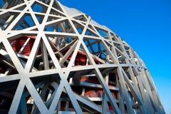 O estádio do nacional de Beijing imagem de stock