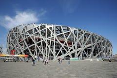 O estádio do nacional de Beijing Imagens de Stock Royalty Free